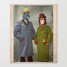Stan & Jimmy Canvas Print