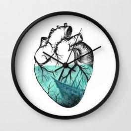 Sinking Heart Wall Clock