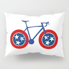 Tennessee Flag Cycling Pillow Sham