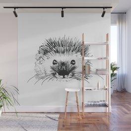 Hedgehog Wall Mural