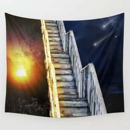 Stairway to.... u guess!  Wall Tapestry