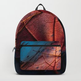 Night Red blues Backpack