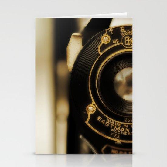 Vintage Folding Camera Stationery Cards