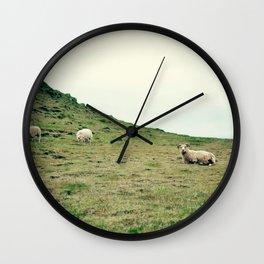 Icelandic Sheep Wall Clock