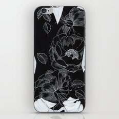 owl and poppies iPhone & iPod Skin