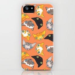 """Oro?"" Cats-Salmon Color iPhone Case"