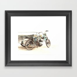 Pedicab Framed Art Print