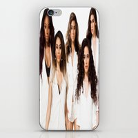 fifth harmony iPhone & iPod Skins featuring Fifth Harmony by Raquel S