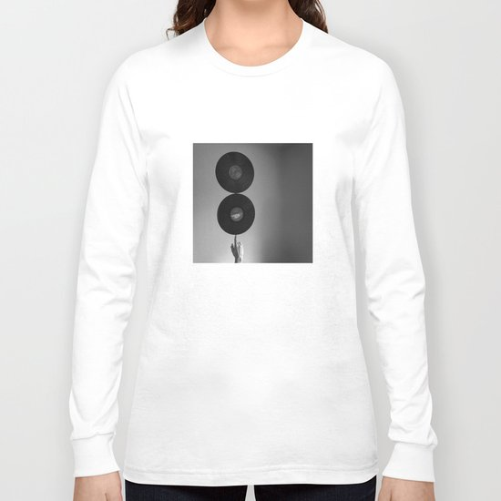 Spinning Records Long Sleeve T-shirt
