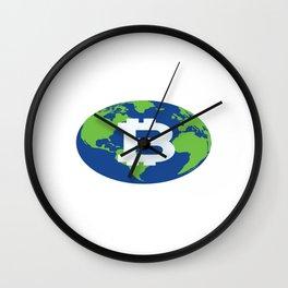 Bitcoin Worldwide Wall Clock