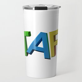Colorful STAFF Travel Mug