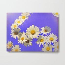 Daisy Chain Flower Art Metal Print