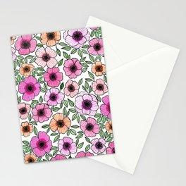 Poppy Pattern Stationery Cards
