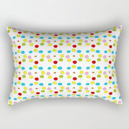 Circle and abstraction 10- blue abstract,geometric,geometrical,circle,sphere Rectangular Pillow