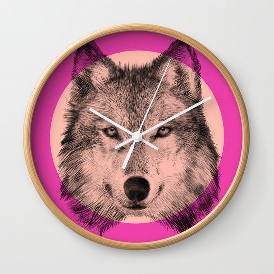 Wild 7 by Eric Fan & Garima Dhawan Wall Clock