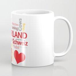 My Favorite Swiss Things Coffee Mug