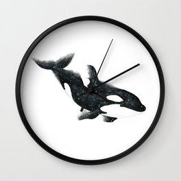 Cosmic Orca Wall Clock