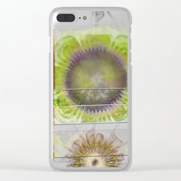 Rueful Naked Flower  ID:16165-043820-63011 Clear iPhone Case