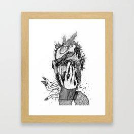 inner chaos Framed Art Print