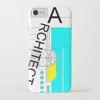 architect iPhone & iPod Cases featuring ARCHITECT-2 by Art-xigo