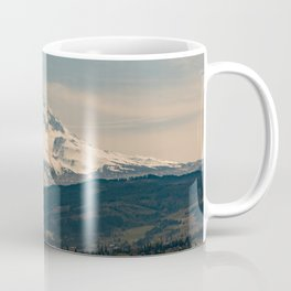 Mountain Valley Pacific Northwest - Nature Photography Coffee Mug