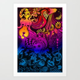Thirst Quencher Art Print