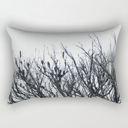 Scorched Branches Rectangular Pillow
