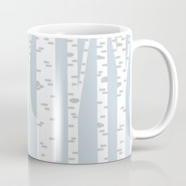 Minimalist Birch Trees by Amanda Laurel Atkins Coffee Mug