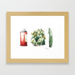 SPRAYWALDGURKE/ SPREEWALD GHERKINS Framed Art Print