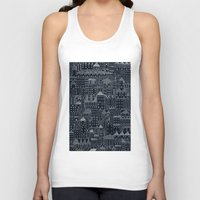 rubyetc Tank Tops featuring city at night by rubyetc