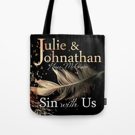 Sin With Us Tote Bag