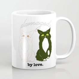 Damaged. by love Coffee Mug