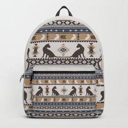 Boho cats | Oriental shorthair tan Backpack