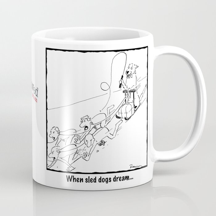 When Sled Dogs Dream Coffee Mug