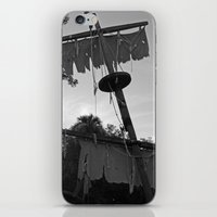 pirate ship iPhone & iPod Skins featuring Pirate Ship by Yellow Tie
