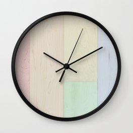 Pastel mmmmmm, i can taste it. Wall Clock