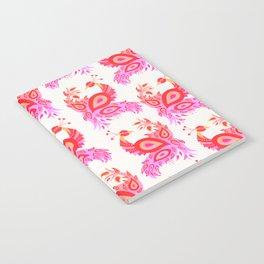 Peacock – Pink & Peach Ombré Palette Notebook
