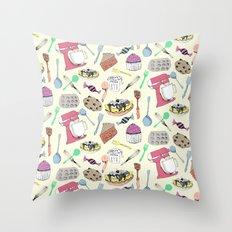 Leah's Kitchen Throw Pillow