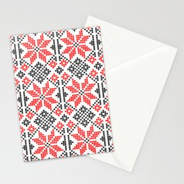 Romanian Traditional Embroidery Stationery Cards