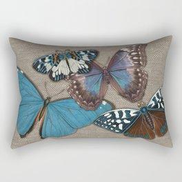 BUTTER BB burlap Rectangular Pillow