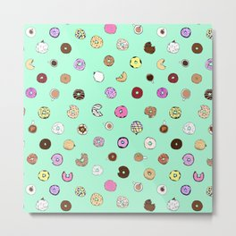 Donut You Want Some Metal Print