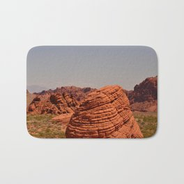 Red Valley Bath Mat