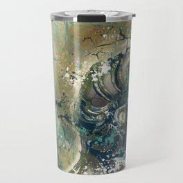 Nautical Nautilus Travel Mug