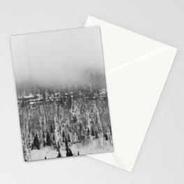 Foggy Trees Stationery Cards