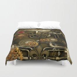 Wonderful noble steampunk design Duvet Cover