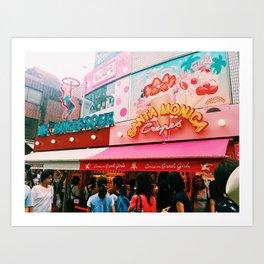 Harajuku Art Print