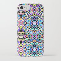 techno iPhone & iPod Cases featuring Techno Tribal  by Isabella Salamone