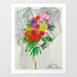 The Peace Bouquet Art Print
