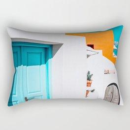 Apartment 539   Santorini, Greece Rectangular Pillow