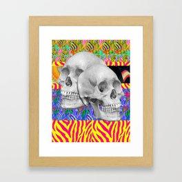 Skull Skull  Framed Art Print